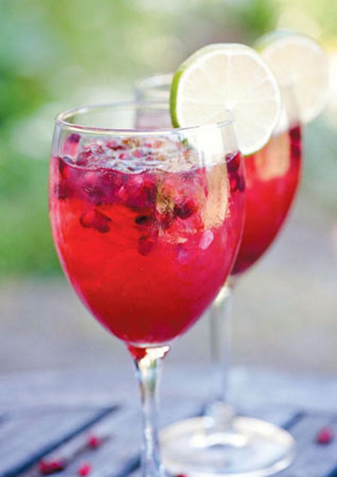 Pomegranate Margarita Recipe: Edible Marin & Wine Country