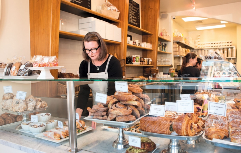 Rustic Bakery and Café cofounder Carol LeValley