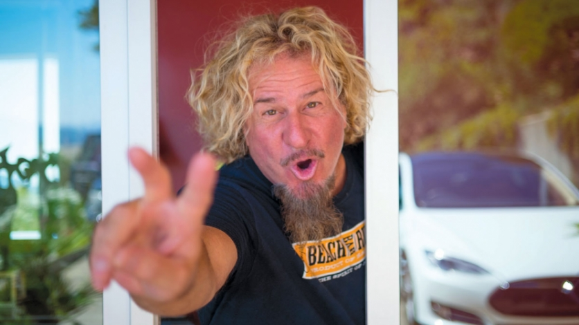 51a7e66f48b Red Rocker Sammy Hagar is as Comfortable in the Kitchen as Behind ...