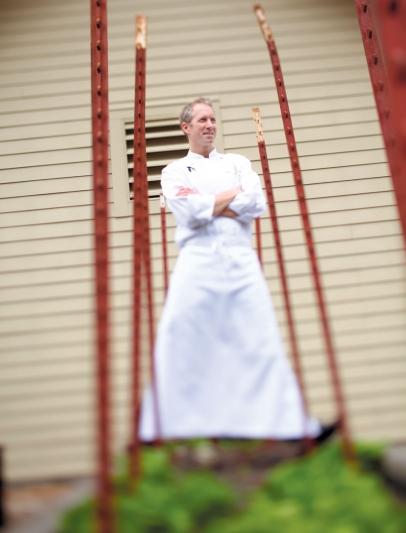 Brandon Sharp, Executive Chef of Solage, Calistoga