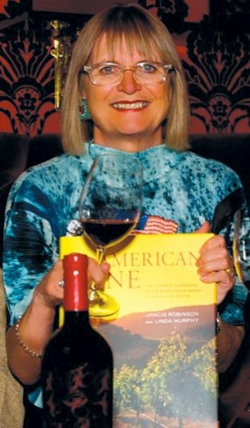Jancis Robinson, wine writer