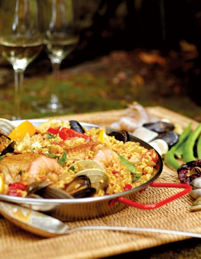 Paella made by Gerard Nebesky