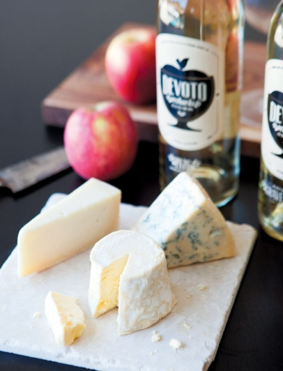 local hard cider pairings
