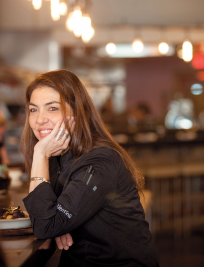 Ca'Momi's Chef Valentina Guolo-Migotto at Ca'Momi's new enoteca in downtown Napa