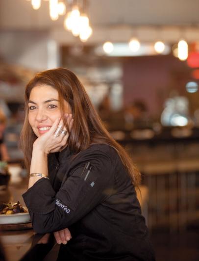 Ca'Momi's Chef Valentina Guolo-Migotto at Ca'Momi's new enoteca in downtown Napa