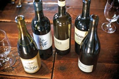 Sonoma County wines