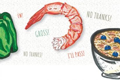 Food Illustrations by Chloe Hoeg