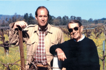 Andy Beckstoffer and André Tchelistcheff