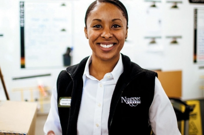 Chaunte Chastang, Store Director of Nugget Novato