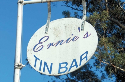 Ernie's Tin Bar is a CSA pick-up location