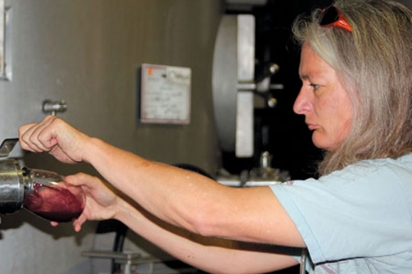 Winemaker Mia Klein, Founder of Selene Wines