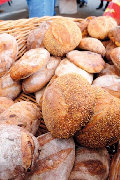 Local artisanal bread