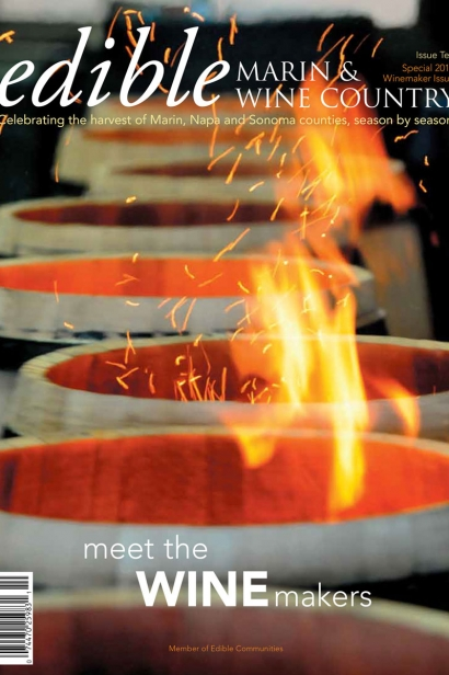 Edible Marin & Wine Country, Cover #10, Meet the Winemakers 2011 Special Issue