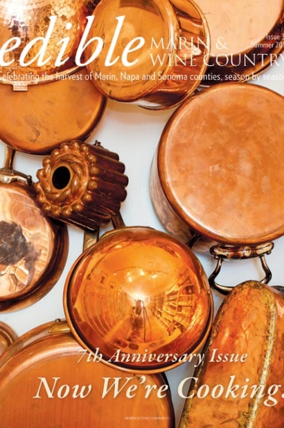 Edible Marin & Wine Country, Cover #30, Summer 2016 Issue