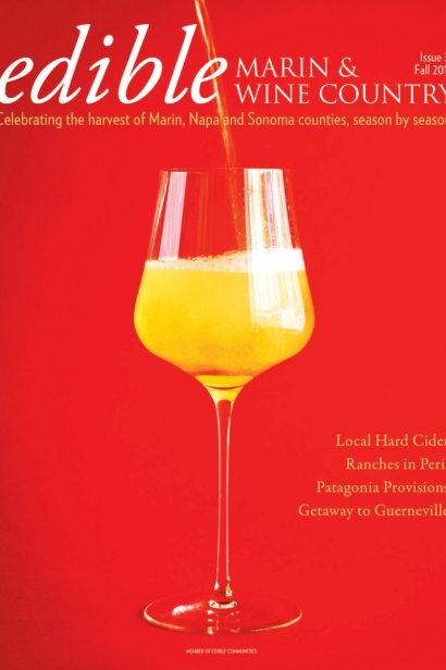 Edible Marin & Wine Country, Cover #31, Fall 2016 Issue