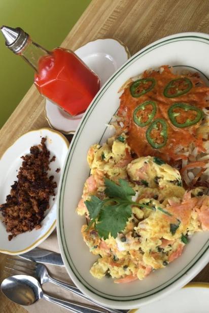 scrambled eggs shoreline coffee shop