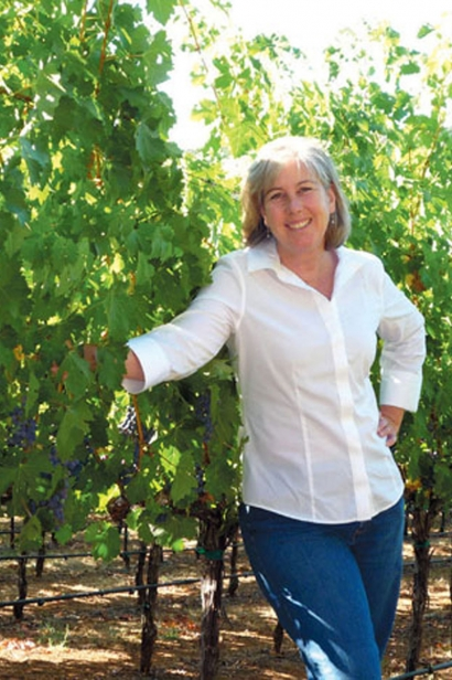 Winemaker Celia Welch, Founder of Corra Wines