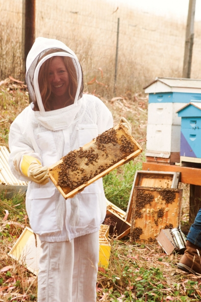 Nick's Cove uses honey harvested from their own beehives