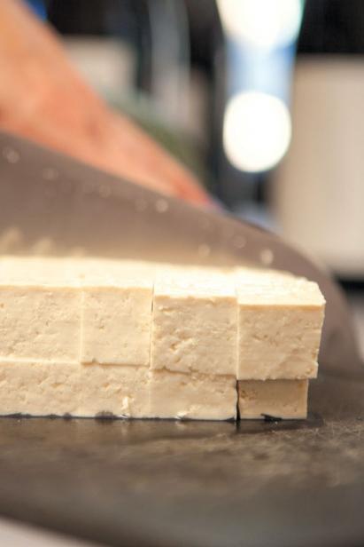 Tofu in vegan diet