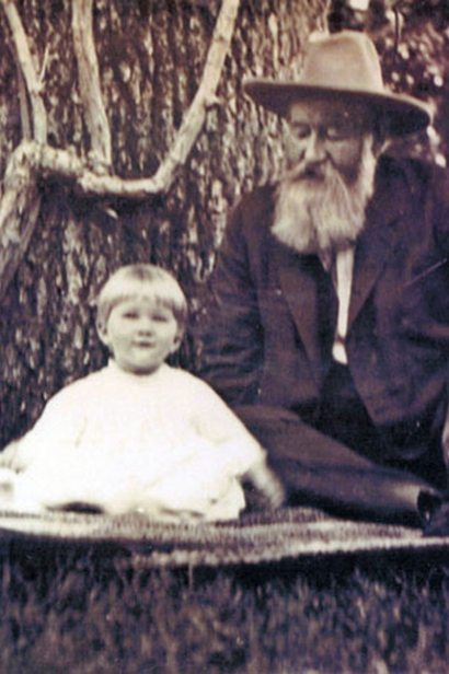 Gustav Nieubaum, Robin Lail's great grandfather, in 1907