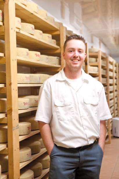 Joe Moreda, Valley Ford Cheese cheesemaker