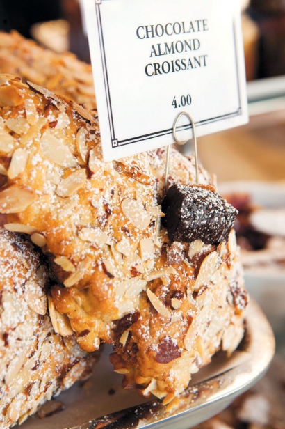 Chocolate Almond Croissant at Rustic Bakery