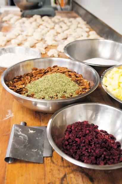 Ingredients for flatbread cracker