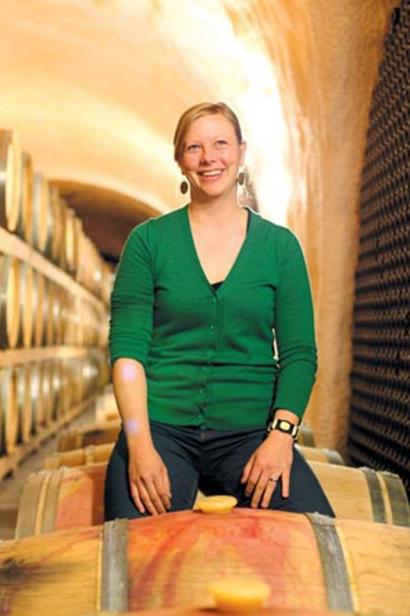 Winemaker Sarah (Ellsworth Adkins) Vandendriessche