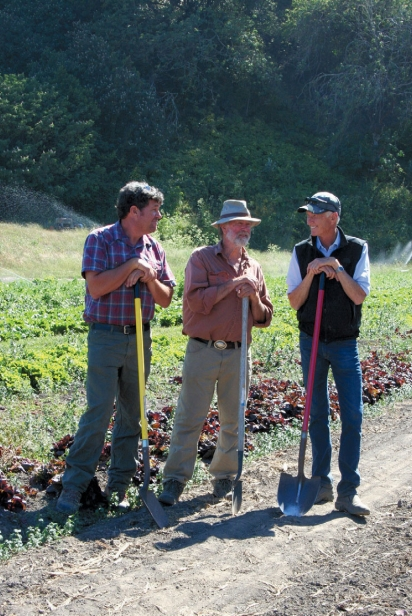 Peter Martinelli of Fresh Run Farms, Dennis Dierks of Paradise Valley Farms and Warren Weber of Star Route Farms.