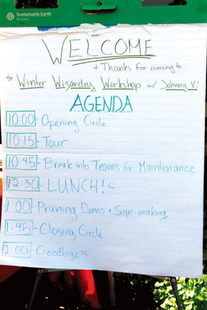 Daily Acts' Workshop Agenda
