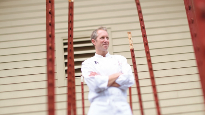Brandon Sharp, Executive Chef of Solage, Calistoga