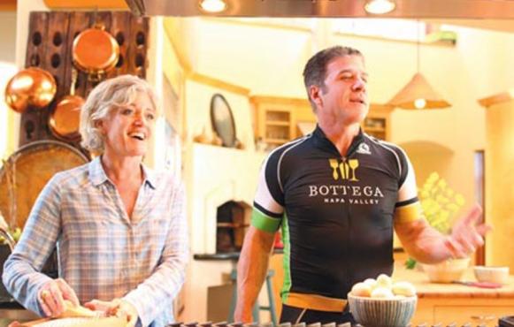 Eileen and Michael Chiarello, Barnraiser