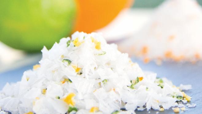 Winter citrus salt