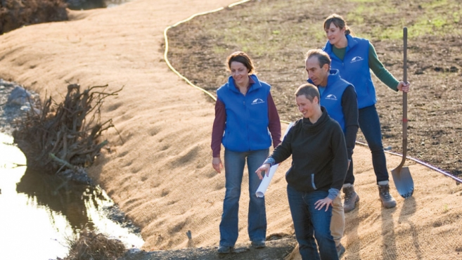 Sustainable Conservation at work with Green Gulch Farm