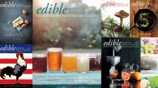 Edible Marin & Wine Country covers