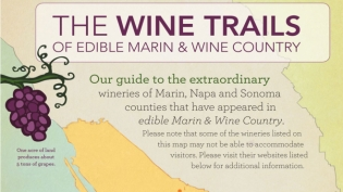 The wine trails of Marin, Napa and Sonoma counties