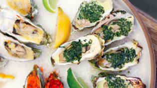 Summer Trio of Hog Island Oysters