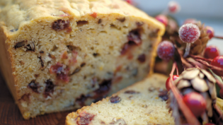Flour Craft's Gluten-Free Cranberry Orange Pecan Bread