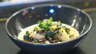 The Station House Café's Oyster Stew