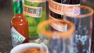 Ingredients for Sammy Hagar's Bloody Mary