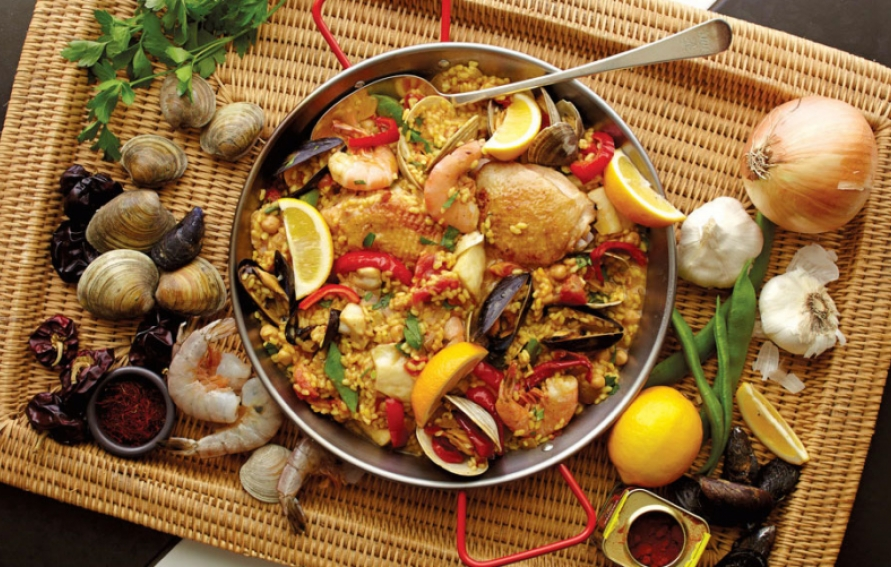 Gerard S Paella Recipe That Beat Bobby Flay Edible Marin Amp Wine Country