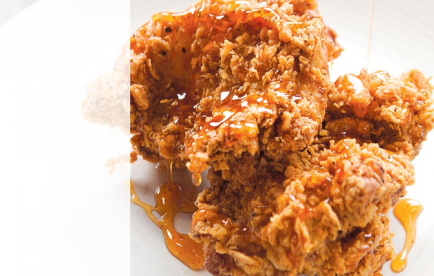 Tuscan Fried Chicken With Spicy Honey Recipe Edible Marin Wine